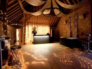 dance floor and black bar